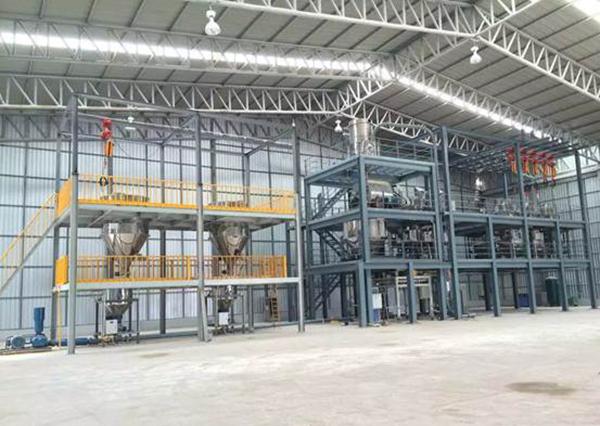 粉末冶金自动化配料系统