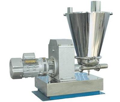 失重式计量秤主要组成部件及使用功能